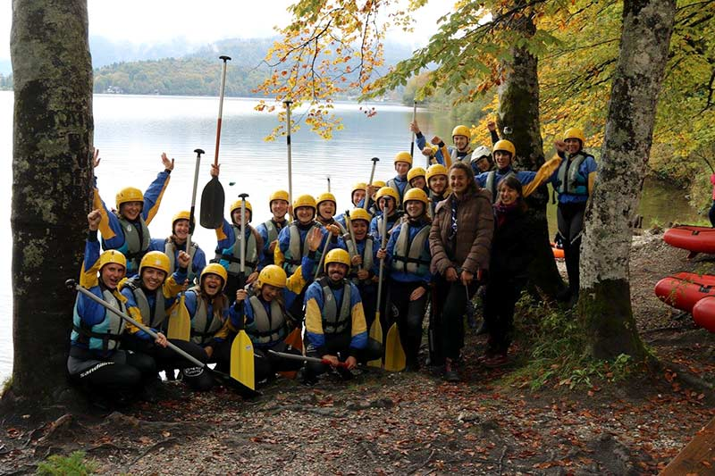 Youth Network for River Action 2017 © Neža Posnjak