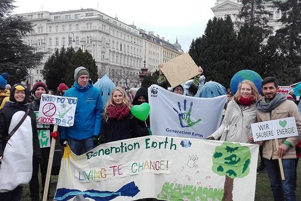 Generation Earth gets political