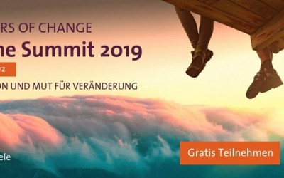 Pioneers of Change: Sei dabei bei der Online Summit 2019