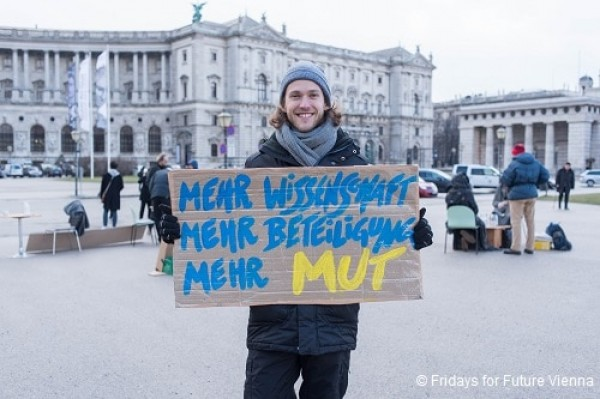 Generation Earth goes Klimastreik: Interview mit Fridays for future Vienna
