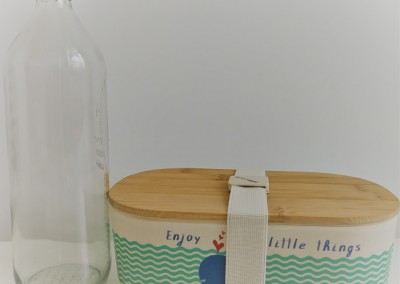 Adios plastic! – from bottle to lunchbox