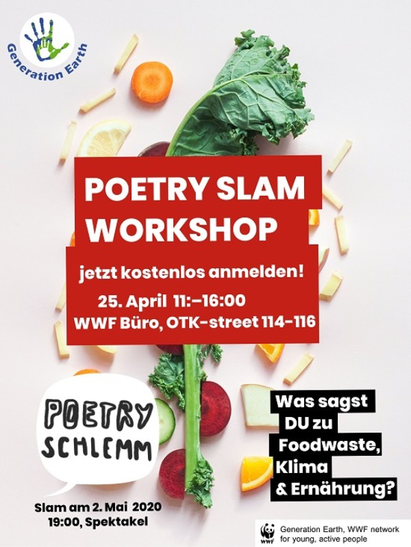 WORKSHOP: Poetry Schlemm