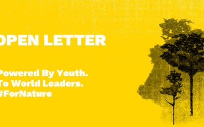 SIGN NOW: Youth #ForNature Manifesto