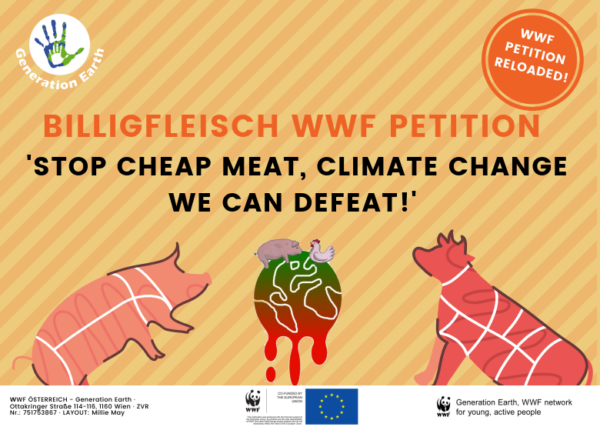 Petition Stop cheap meat! Sign now!
